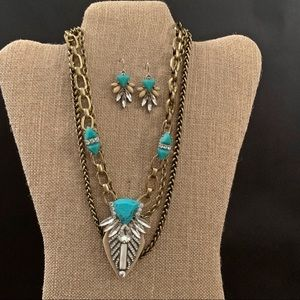 Chloe and Isabel Turquoise Summer Set